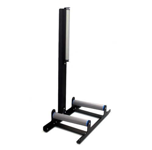 The Clean Garage Poka Premium Detailing Wheel Stand | With Rollers For Cleaning Rims