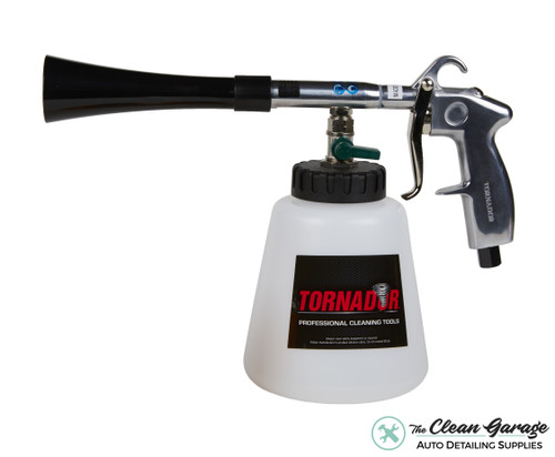 The Clean Garage Tornador Black Tool | Air Powered Air Cleaning Tool