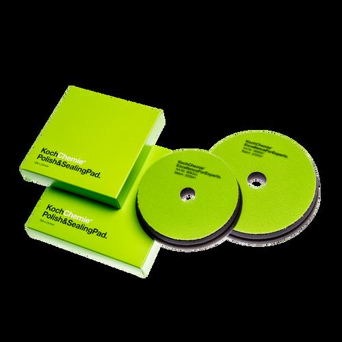 "The Clean Garage 6"" Koch Chemie Polish & Sealing Pad | Green Foam Wax & Sealant"