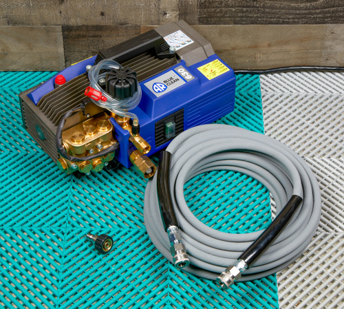 Clean Garage AR630TSS Hot Water Pressure Washer And Kobrajet Hose Kit | AR Blue Clean