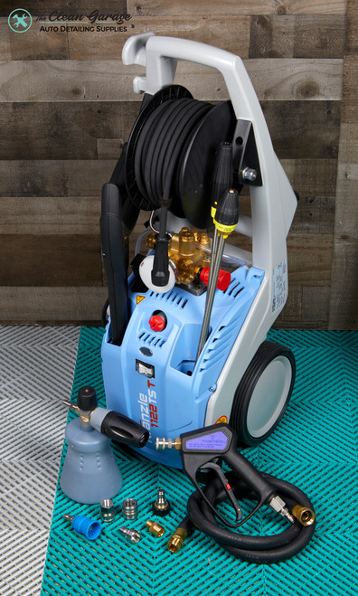 The Clean Garage Kranzle K1122TST Pressure Washer Detailing Package | Mosmatic & MTM
