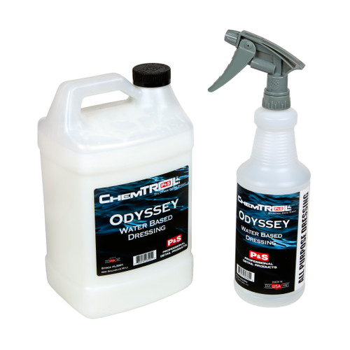 Clean Garage P&S ChemTROL Odyssey Water Based Dressing 1 Gallon | Combo Kit