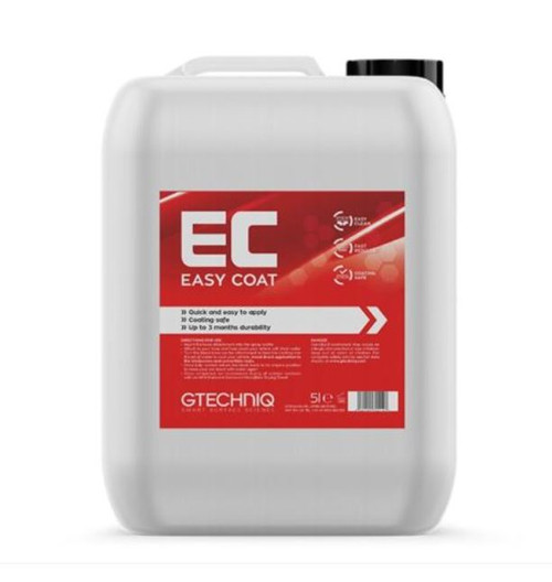 The Clean Garage Gtechniq Easy Coat 5 Liter Refill | Hose on Protective Coating 169oz