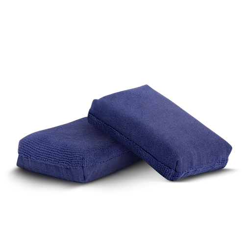 The Clean Garage Gyeon Ceramic Coating Applicator | 2 Pack | Dual Sided Suede & Microfiber