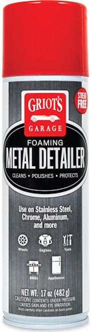 The Clean Garage Griot's Garage Foaming Metal Detailer | 19oz Aerosol