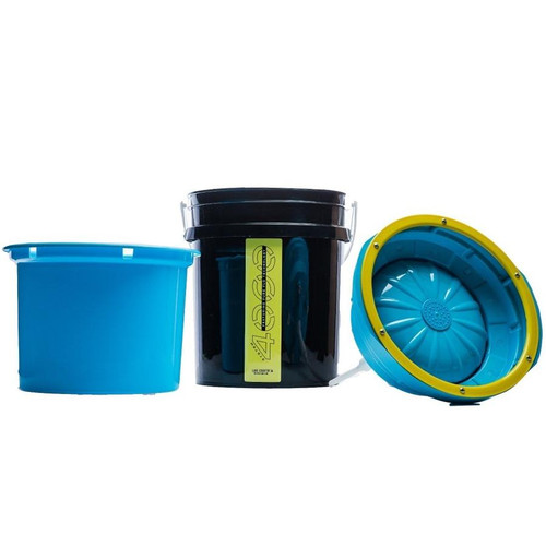 The Clean Garage Lake Country System 4000 Pad Washer | Complete System With Bucket (