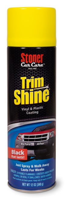 The Clean Garage Stoner Trim Shine 12oz Aerosol | Makes Faded Trim Look New