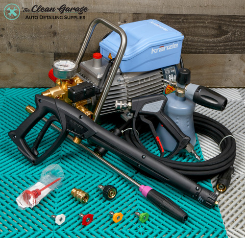 The Clean Garage Kranzle K1622TS Pressure Washer Total Stop   MTM Detailing Package Level 1