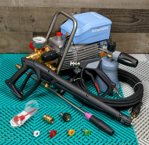 Clean Garage Kranzle K1622TS Pressure Washer Total Stop | MTM Detailing Package Level 1