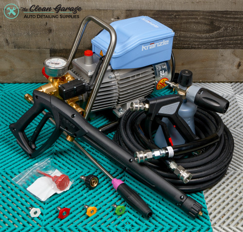 The Clean Garage Kranzle K1622TS Pressure Washer Total Stop | MTM Detailing Package Level 2