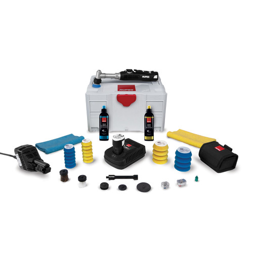 The Clean Garage Rupes iBrid Nano Long Neck Polisher | Bigfoot Systainer Box LUX Kit