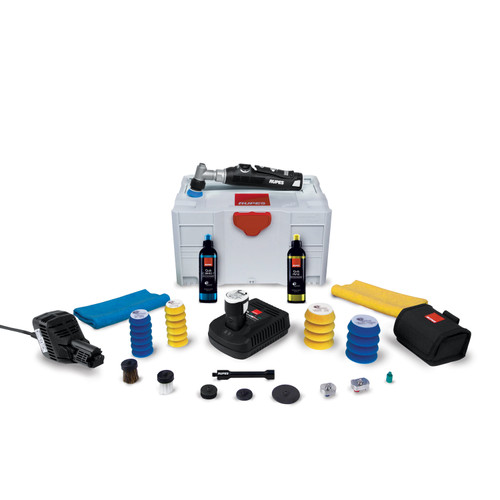 The Clean Garage Rupes iBrid Nano Short Neck Polisher | Bigfoot Systainer Box LUX Kit
