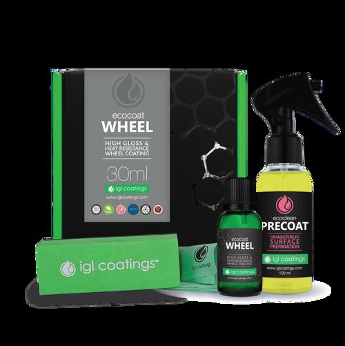 The Clean Garage IGL Ecocoat Wheel 30ml Kit | Ceramic Coating Kit for Rims