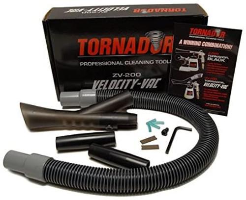 The Clean Garage Tornador Velocity Vac   Vacuuming Attachment For Tornador Black Tool