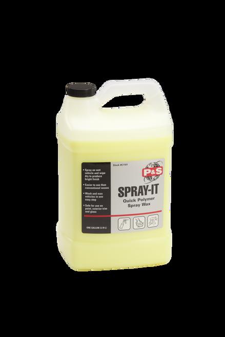 The Clean Garage P&S Spray It 1 Gallon | Quick Polymer Spray Wax