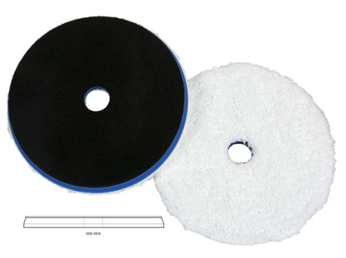 """The Clean Garage Lake Country HDO Heavy Cutting Microfiber Pad 6.5""""   For 6"""" Backing Plate"""