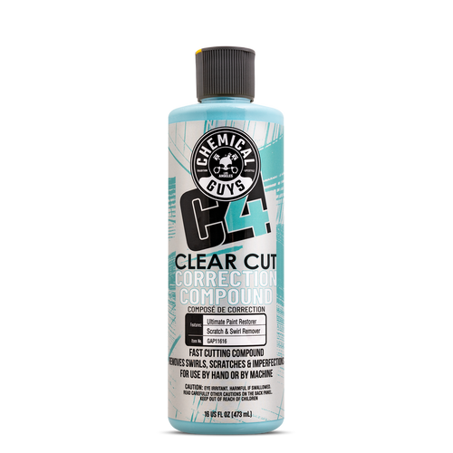 The Clean Garage Chemical Guys C4 Clear Cut 16oz | Correction Compound