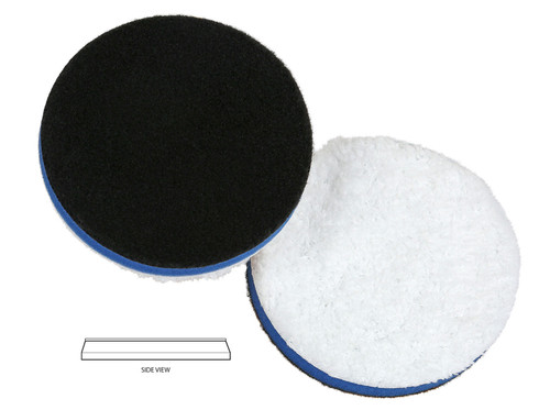 """The Clean Garage Lake Country HDO Heavy Cutting Microfiber Pad 3.5""""   For 3"""" Backing Plate"""