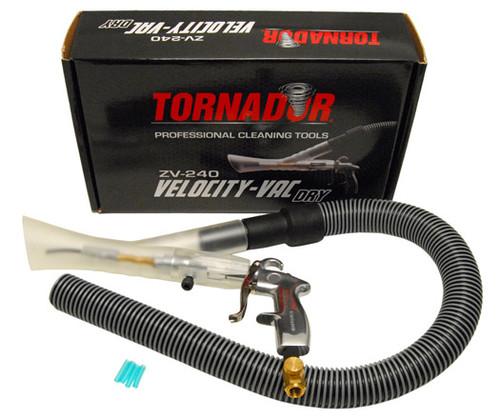 The Clean Garage Tornador Velocity Vac Dry   Air Powered Vacuum Attachment