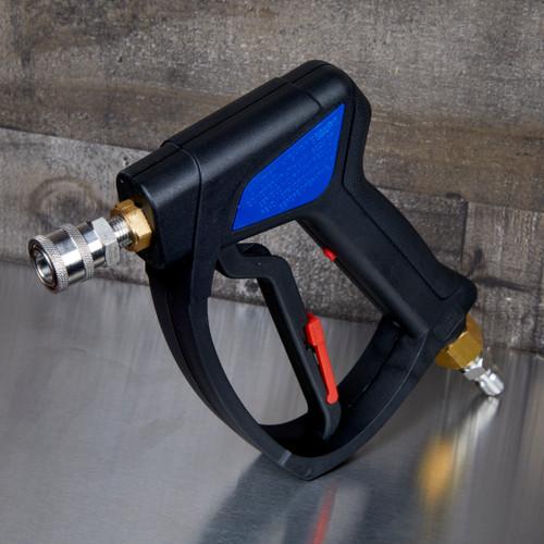 MTM Hydro SG35 Pressure Washer Spray Gun   Brass Inlet Swivel With QC's
