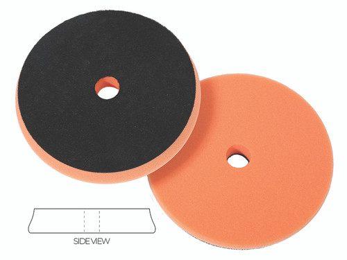 """The Clean Garage Lake Country SDO Polishing Pad Orange 6.5"""" 