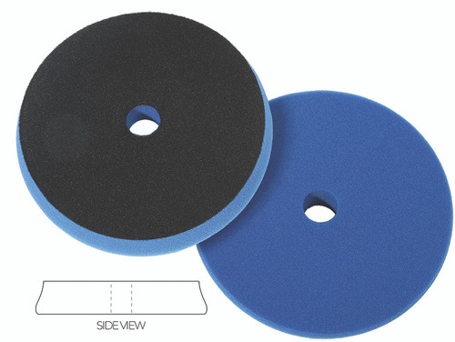 """The Clean Garage Lake Country SDO Polishing Pad Blue Foam 6.5"""" 