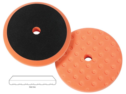 """The Clean Garage Lake Country CCS Precision Rotary Pad Orange 8"""" 