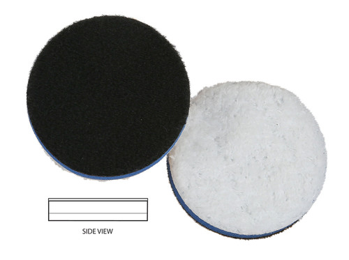 """The Clean Garage Lake Country Heavy Cutting Microfiber Pad 2.25"""" 