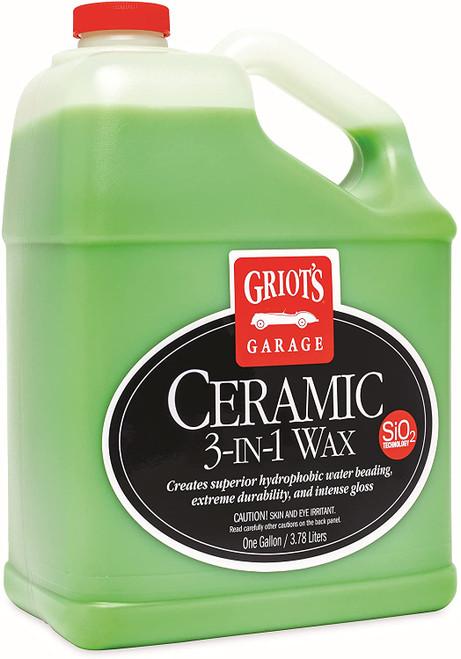 The Clean Garage Griot's Garage Ceramic 3-in-1 Wax 1 Gallon | Spray Coating