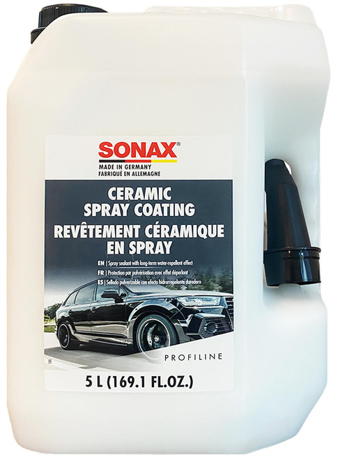 The Clean Garage Sonax Ceramic Spray Coating 5 Liter | With Si-Carbon-Technology 169oz
