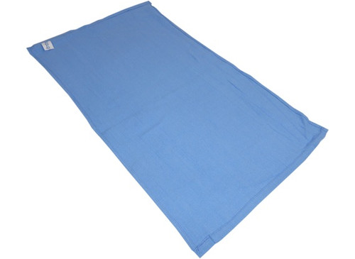 The Clean Garage Blue Surgical Huck Towel 15 x 24   For Glass Windows and Shop Rags
