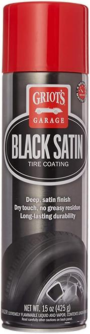 Griot's Garage Black Satin Tire Coating 15oz | Aerosol Dressing