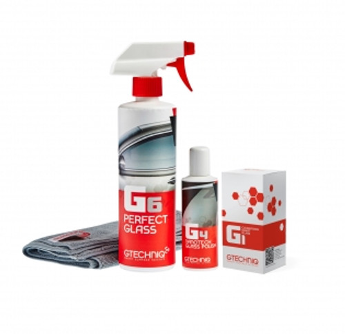 The Clean Garage Gtechniq Automotive Glass Care Kit | Coating Polish & Cleaner