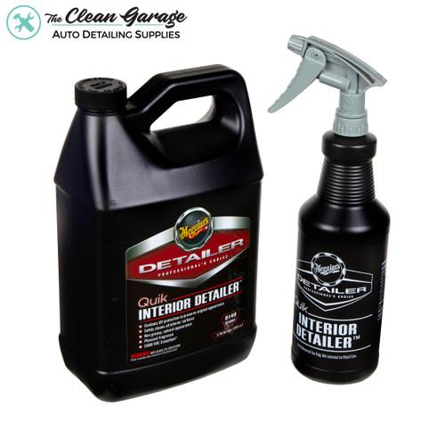 Clean Garage Meguiars Quick Interior Detailer 1 Gallon Combo | D149 Bottle & Sprayer