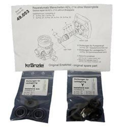 Kranzle AZL Pump Seal Kit | Rebuild Kit 1622TS 1122TST