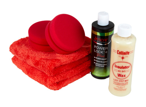 Clean Garage Collinite Insulator Wax and Jescar Power Lock + Sealant Combo Kit