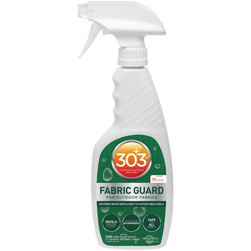 The Clean Garage 303 Fabric Guard 16oz   Convertible Top Outdoor Fabric Protectant