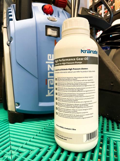 The Clean Garage Kranzle Pump Oil | 1 Liter Performance Gear Oil