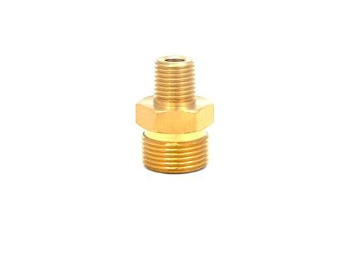 "MTM M22 Male 14mm x 1/4"" Male Adapter | Brass"
