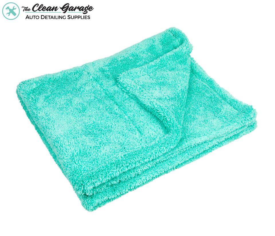 Dual Sided Twist Loop XL Drying Towel 1400gsm Mint Green | 35