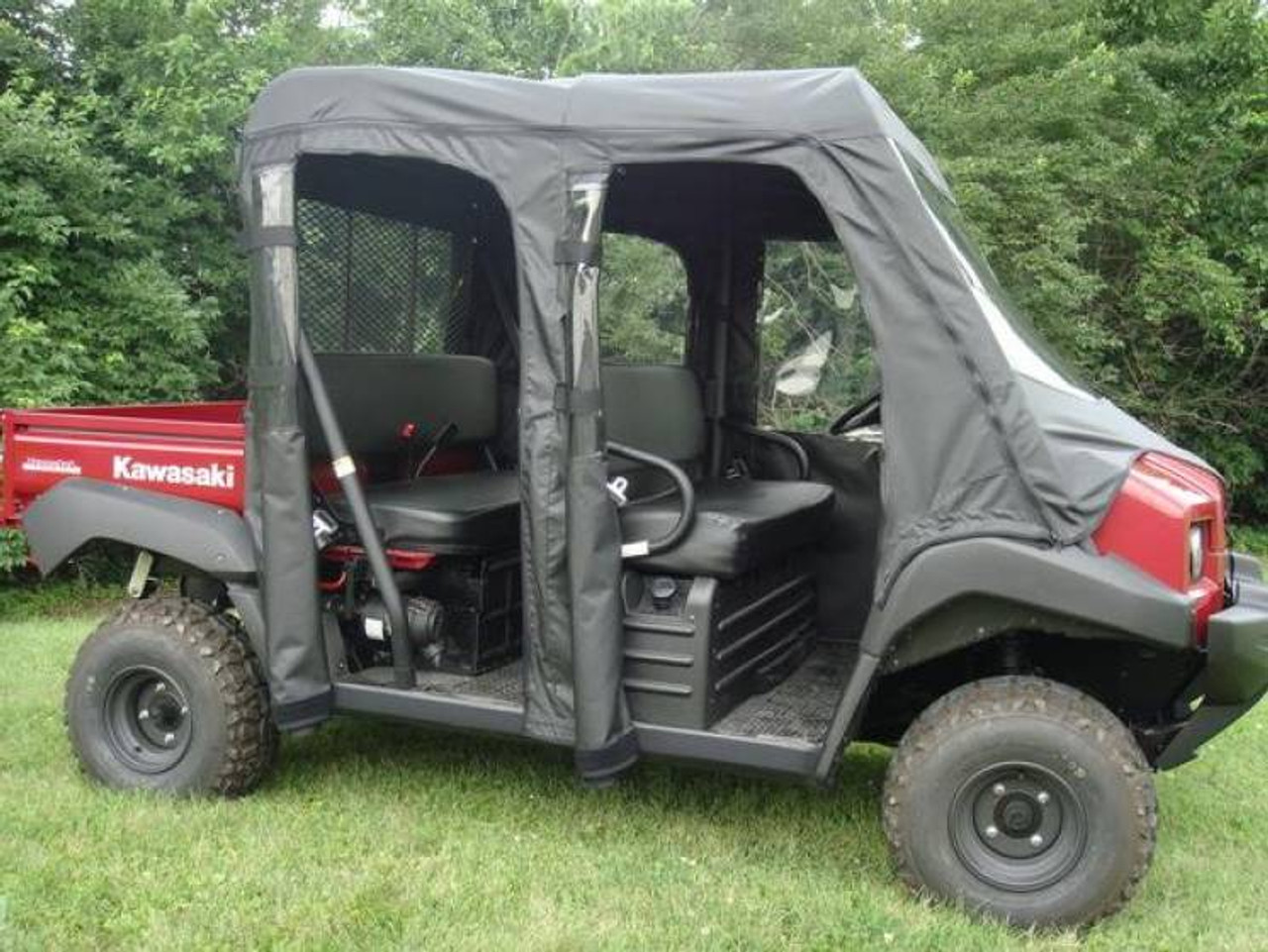 Kawasaki Mule 4000//4010 Trans Full Soft Cab Enclosure by Over Armour Offroad