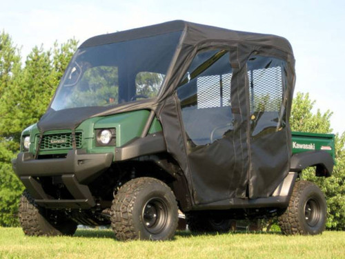 Kawasaki Mule 4010 TRANS Full Cab Enclosure w/ Vinyl Windshield