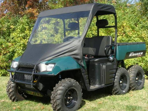 2004-2008 Polaris Ranger Vinyl Windshield + Soft Roof GCL UTV