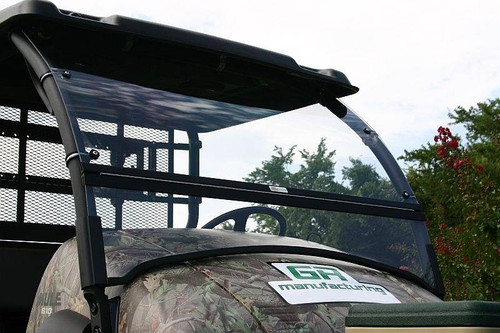 Kawasaki Mule 600 610 Folding Hinged Polycarbonate UTV Windshield | USA Made