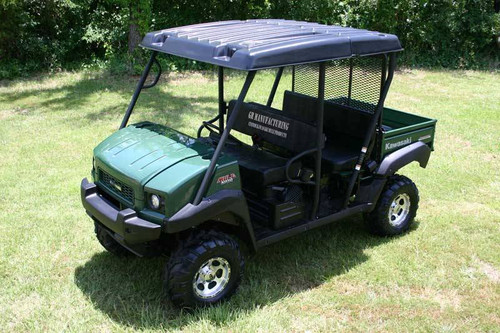 Kawasaki Mule 4010 TRANS Hard Top Roof UTV Hardtop Plastic - Fits all model years