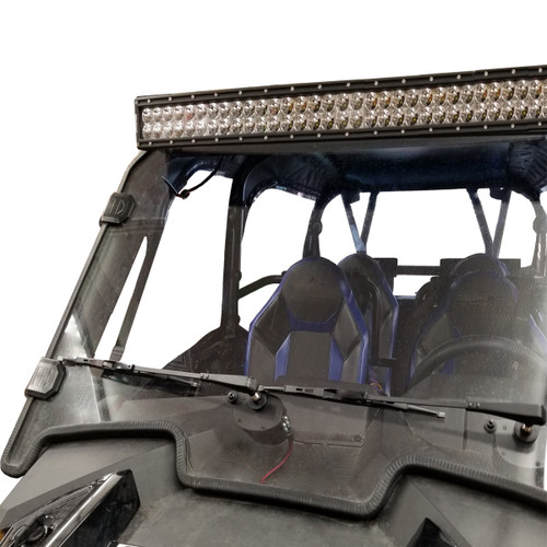 Polaris Ranger 500 570 Midsize EV ETX Evolution UTV Lexan Windshield | Wiper Kit Available