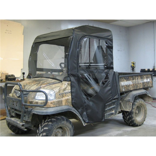 Kubota RTV900 Full Cab Enclosure with AeroVent Lexan Windshield