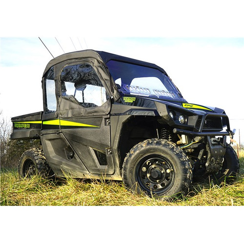 Textron Stampede Full Cab Enclosure with AeroVent Polycarbonate Windshield
