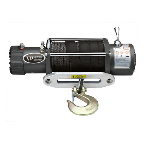 Viper Recovery Jeep 4x4 Truck Winch 13000 lb Capacity with Synthetic Rope