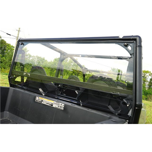 Polaris General 4 1000 Polycarbonate Hard Rear Window Windshield